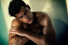 A Stunning Sean O'Pry Poses for James Houston