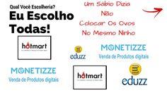 Se Cadastrar Nas Principais Plataformas De Afiliados Hotmart, Monetizze,...