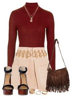 """""""Untitled #298"""" by foreverdreamt ❤ liked on Polyvore featuring moda, Topshop, Chloé, LowLuv, Fall i outfit"""