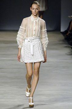 Chloé Spring 2006 Ready-to-Wear Fashion Show - Kinga Rajzak (IMG)