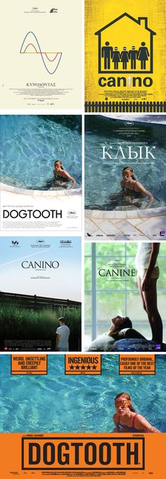 """Movie Poster of the Week: """"Dogtooth"""" on Notebook 