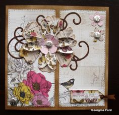 Card using Craftwork Cards Botanica collection.