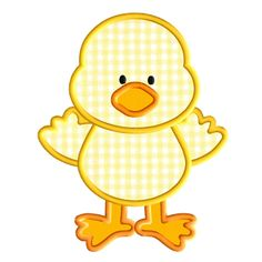 Easter Chick Applique