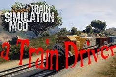 GTA V -Train Driving -Train Driver -How to Train Driver-GTA V Tren Sürmek San Andreas, Grand Theft Auto, Gta, Neon Signs, Train