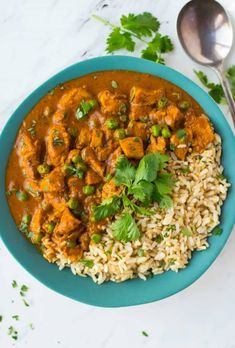Easy Instant Pot Chicken Tikka Masala. This delicious chicken tikka masala pressure cooker recipe will be a new family favorite! Healthy, easy, and made quick in the pressure cooker.