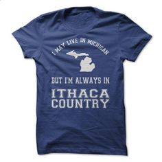Michigan 4 Ithaca Country! - #jean shirt #tshirt kids. BUY NOW => https://www.sunfrog.com/Sports/Michigan-4-Ithaca-Country.html?68278