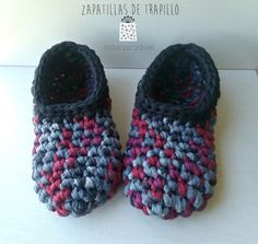 Zapatillas de trapillo, paso a paso | Manualidades                                                                                                                                                                                 Más