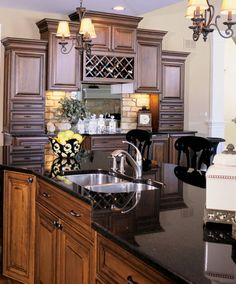 31 Best Kitchens In Black Granite Images On Pinterest Black