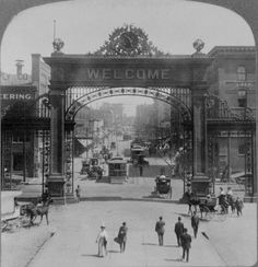 Arch of Welcome, Denver, Colorado, c. 1910