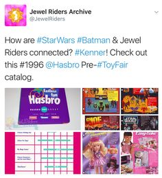 #jewelriders #StarWarsDay #StarWars #MayTheFourthBeWithYou #MayThe4thBeWithYou #ThursdayThoughts #ThrowbackThursday #Kenner #StarWarsDay2017 #MLP #batman #actionfigures #gijoe #gargoyles #easybakeoven
