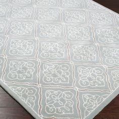 Nice Variety of Sizes, FR or Runner.  Candice Olson Rugs Modern Classics Pale Blue Rug