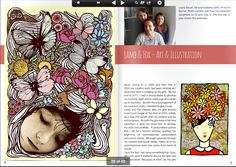 Goregous #illustrations from @Laura Jayson Jayson Bevan from #Lamb on pg 24 of 2nd #Parent Tribe #Magazine #Creativity http://www.parenttribe.net/