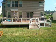Maryland Deck Construction Photo Gallery   T.W. Ellis. Gate To Basement  Stairs! Matches Deck