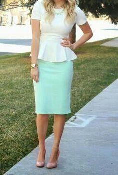 Cuteeeeeeeeee with long sleeves♡ and skirt length longer