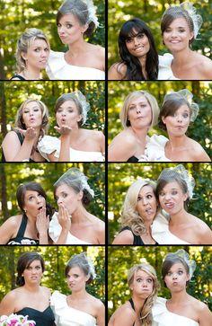 Awesome bridesmaid/bride shots!!!