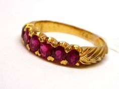 Antique Ruby Engagement Ring