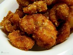 Krevety v krupicovo-sezamovom kabatiku