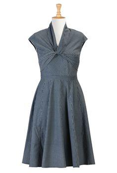 Women's designer dresses - Day dresses, casual dresses, maxi dresses, caftans - | eShakti.com