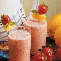 Strawberry Orange Shakes my Quick Cooking recipe