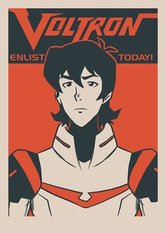"""""""Enlist Today! – Commander Keith Kogane"""" by Nathan J. Anderson"""