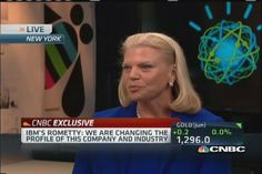 IBM CEO: We'll lead the 'reordering' of technology industry
