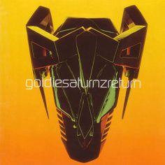 Goldie - Saturnz Return LP cover