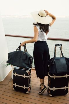 """""""Traveling in an outfit by St. John, which I love, along with this brand because they do not wrinkle."""" -Jamie Beck of AnnStreetStudio.com"""