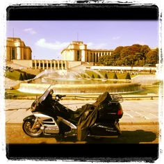 Honda Goldwing - New Way Taxi Moto. Taxi Moto, Honda, Paris, Motorcycle, Fine Art, Vehicles, Montmartre Paris, Paris France, Motorcycles
