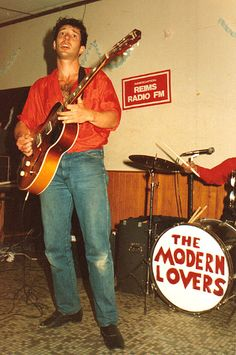 Jonathan Richman. He signed an album for me after a show. And wore bedroom slippers through the whole thing. <3 him so.