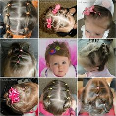 96 Best Frisuren Für Kleine Mädchen Images On Pinterest Easy Hair
