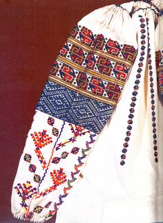 FolkCostume&Embroidery: Embroidery of Zastawna county, Cherniwtsi oblast, Bukovyna, Ukraine Ukraine, Folk Costume, Costumes, Russian Embroidery, Ukrainian Art, Costume Patterns, Embroidered Blouse, Traditional Outfits, Types Of Shirts