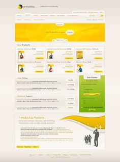 Symantec Security Layout by ~FredericoFelix on deviantART