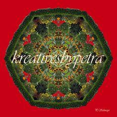 "Mandala ""Blumengarten"" kreativesbypetra Mandala Art, Petra, Christmas Bulbs, Holiday Decor, Garden, Flowers, Inspiration, Style, Mandalas"