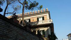 La Rocca Malatestiana , via Pascoli(antica via Flaminia)