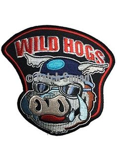 Patch Squad Men's Wild Hogs Movie Embroidered Patch