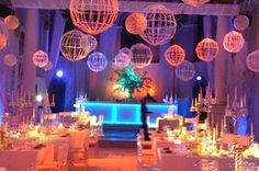 Lighting for wedding / corporate events Something different to the usual fairy lights or chandelier Bona-Fide Events South Africa