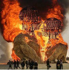 - Instagram - Hombre en llamas , 2014 . . . // Burning man 2014 . . .