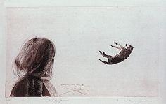 Abril 2 Figuras. Evandro Carlos Jardim, 1986. Gravura em metal: água-tinta e água-forte.