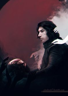 #kyloren #starwars The light is calling