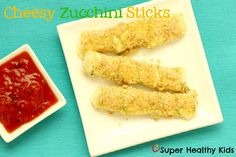 Zucchini Cheese Sticks