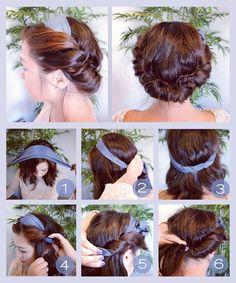 5 enkla frisyrer Hair Hacks, Hair Tips, Cool Hairstyles, Hairdos, Vintage Hairstyles, Beauty And The Beast, Dream Wedding, Wedding Dreams, Dreadlocks