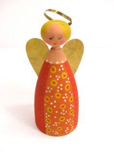Vintage Swedish Christmas Angel