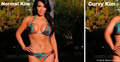 What Celebrities Would Look Like With Extra Curves