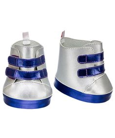 Silver & Purple High-Tops | Build-A-Bear