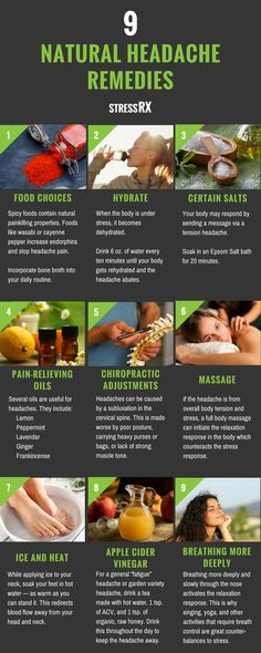 Allergy Remedies Headache Natural Remedies: 9 Best Tips to Relieve Headaches Naturally Home Remedy For Headache, Natural Headache Remedies, Natural Home Remedies, Natural Healing, Holistic Healing, Asthma Relief, Migraine Relief, Migraine Remedy, Tension Headache Relief