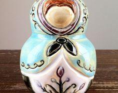 matrioska em cerâmica