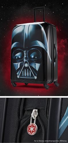 Darth Vader Luggage from American Tourister: The official luggage of Walt Disney World Resort and Disneyland