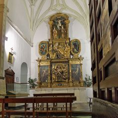 Convento de Santa Úrsula (Toledo). Capilla de San Nicolás de Tolentino - Category:Altarpieces by Alonso Berruguete — Wikimedia Commons
