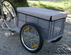 Bike trailer enclosed. Bugging out or camping   Dan