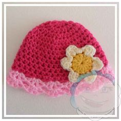 Pretty cap in sizes from premie to adult. Creative Crochet Workshop: March Baby Beanie - Crafting A Rainbow Of Hope
